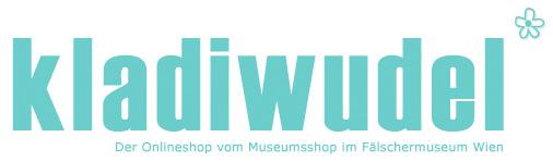 Kladiwudel - Der Shop für ausgefallene, witzige Postkarten, Türhänger, Taschen, Bierdeckel & mehr-Logo